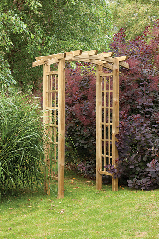 ryeford garden arch