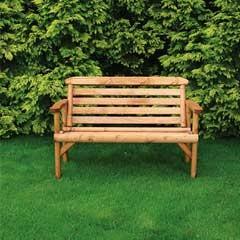wooden bench rustic
