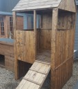 Play House fort side