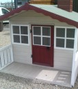 Painted playhouse