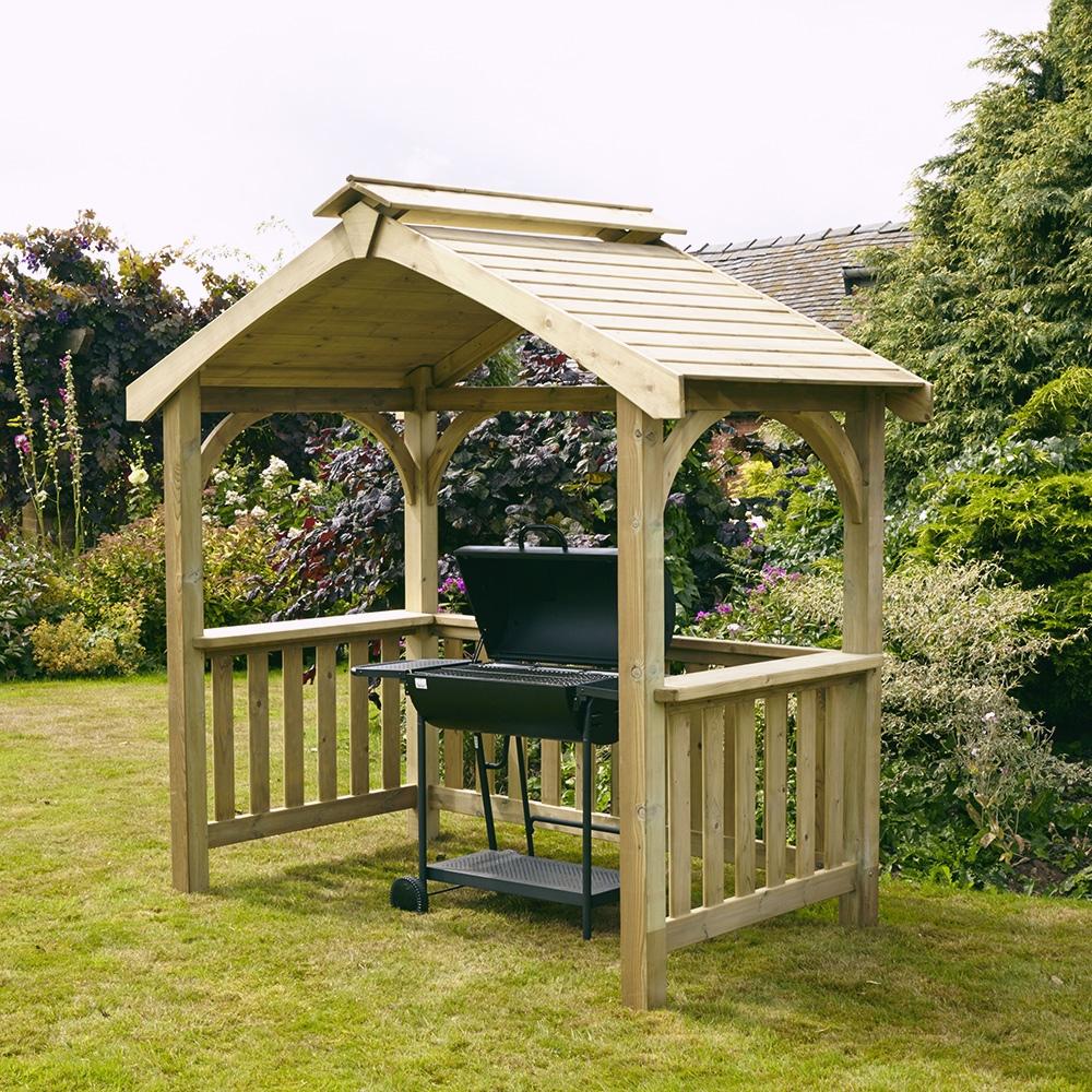 Devon BBQ Shelter – Woodcraft UK